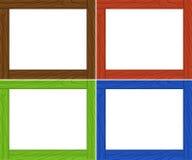Molde do quadro em quatro cores Imagens de Stock