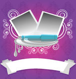 Molde do retrato Imagem de Stock Royalty Free