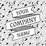 Molde do slogan da empresa Imagem de Stock