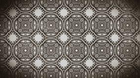 Molde do teste padrão do fundo do ornamento floral do vintage de Brown do café ilustração stock