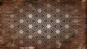 Molde do teste padrão do papel de parede do vintage de Brown escuro ilustração do vetor