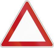 Molde do triângulo Imagem de Stock Royalty Free