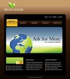 Molde do Web site Imagem de Stock