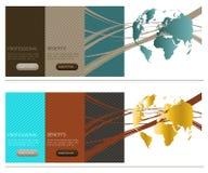 Molde do Web site Imagens de Stock