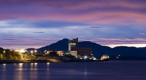 Molde Docks Stock Photography