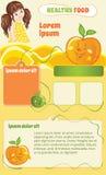 Molde dos desenhos animados do comida para bebê Imagem de Stock Royalty Free