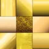 Molde dourado do vetor do teste padrão da textura Imagem de Stock