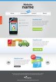 Molde Editable do Web Fotografia de Stock