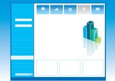 Molde Editable do Web ilustração do vetor