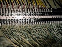 molde eléctrico del interior del cableado Imagenes de archivo