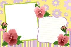 Molde em branco para o frame da foto ilustração do vetor