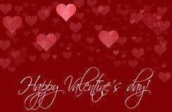 Molde feliz do dia de Valentim fotos de stock royalty free