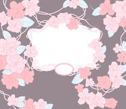 Molde floral. Fotos de Stock