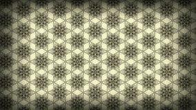Molde floral do projeto do papel de parede do teste padrão do vintage de Ecru ilustração royalty free