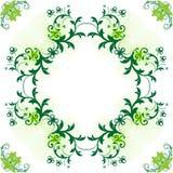 Molde, forma redonda para o texto Foto de Stock