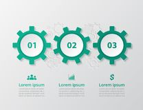 Molde infographic do vetor Foto de Stock