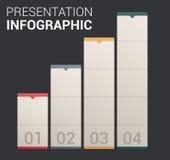 Molde/infographics macios modernos do projeto da cor ilustração do vetor