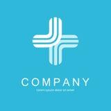 Molde médico do vetor do sumário do projeto do logotipo Foto de Stock