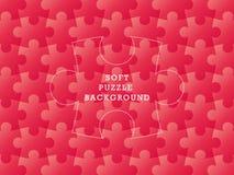 Molde macio geométrico da ilustração do gráfico de vetor do fundo do enigma sem emenda colorido Foto de Stock Royalty Free
