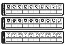 Molde manual da fotografia para fotógrafo Fraude do ` s da câmera sh Imagem de Stock