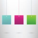 Molde moderno da bandeira Imagem de Stock