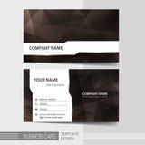 Molde moderno do cartão Fotografia de Stock
