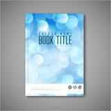 Molde moderno do projeto do folheto/livro/inseto do sumário do vetor ilustração stock