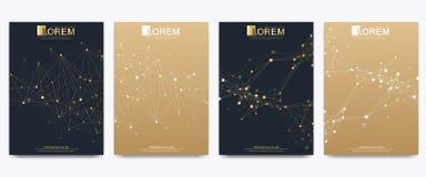 Molde moderno do vetor para o folheto, o folheto, o inseto, o anúncio, a tampa, o catálogo, o compartimento ou o informe anual Ne ilustração do vetor