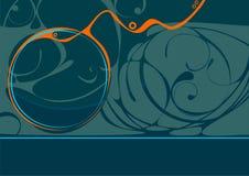 Molde no estilo abstrato com testes padrões Foto de Stock Royalty Free