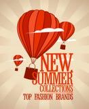Molde novo do projeto das coleções do verão Imagem de Stock