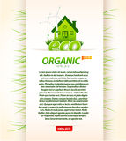 Molde orgânico do eco Imagens de Stock