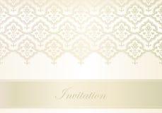 Molde para o cartão do convite Fotografia de Stock Royalty Free