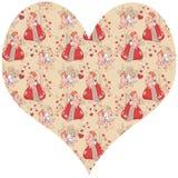 Molde para o dia de Valentim Imagens de Stock