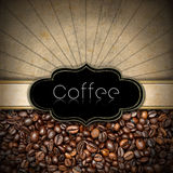 Molde para o menu da casa do café Fotos de Stock