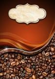 Molde para o menu da casa do café Imagem de Stock