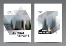 Molde preto e branco do projeto da disposição do folheto Fundo moderno da apresentação da tampa do folheto do inseto do informe a ilustração do vetor
