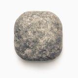 Molde quadrado de chanfradura circular de pedra natural do ícone isolado Imagem de Stock
