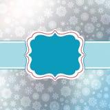 Molde retro do cartão de Natal. EPS 8 Foto de Stock Royalty Free