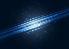 Molde transparente moderno do fundo da olá!-tecnologia Foto de Stock