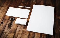 Molde vazio para portfólios do projeto Imagens de Stock