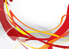 Molde vermelho abstrato Imagem de Stock Royalty Free