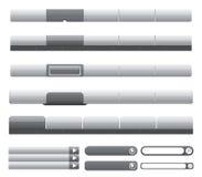 Molde-Vetor Editable fácil da navegação do Web site ilustração stock