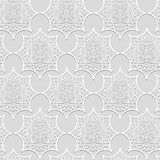 Moldeados blancos del yeso del volumen ornamental Imagenes de archivo