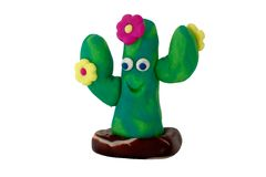 Molded Cactus Royalty Free Stock Photography