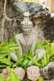 Molded figure. For  learn about thai massage in wat pho thailand Stock Photos
