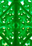 Molded plastic design. Of chair back side with back light Royalty Free Stock Images