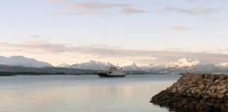 moldefjord挪威 免版税图库摄影