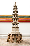 Moldel китайское и пагода Стоковые Фотографии RF