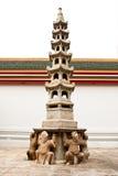 Moldel chinês e o pagode Fotos de Stock Royalty Free