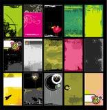 Moldes 8 dos cartões Imagens de Stock